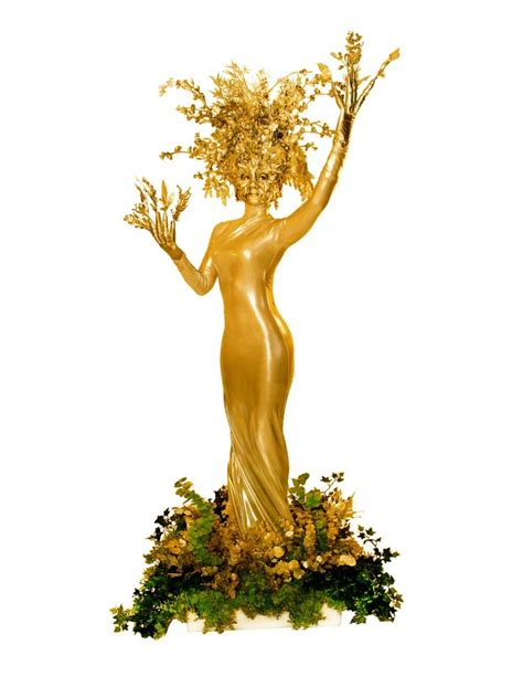 living gold tree by ten31 human nature pinterest
