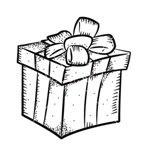 christmas present drawing designcorner