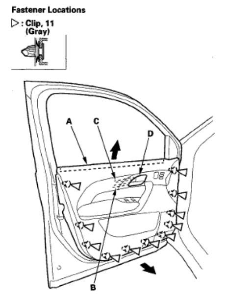 service manual removing mirror from a 2010 acura rdx service manual remove mirror switch on service manual diagrams to remove 2009 acura rdx driver door panel diagrams to remove 2009