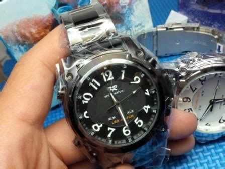 Tetonis Original Dual Time Ts64 2 jam tangan fortuner wh2302 led original