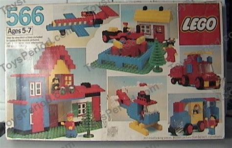 Set 1987 3in1 lego 566 universal building set set parts inventory and