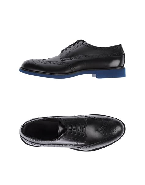 doucal s lace up shoes in black lyst