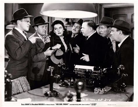 themes in his girl friday his girl friday the women new beverly cinema