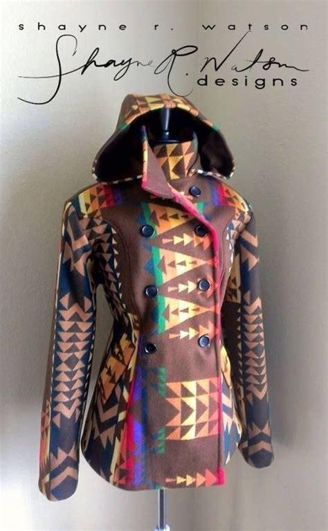 Navajo Design Jacket | shane watson navajo fashion designer shayne r watson