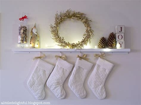 Ideas For Hanging Without A Fireplace by 8 Festive Ways To Hang When You Don T A
