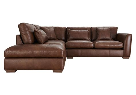 sofa village savannah leather corner sofa furniture village alley cat