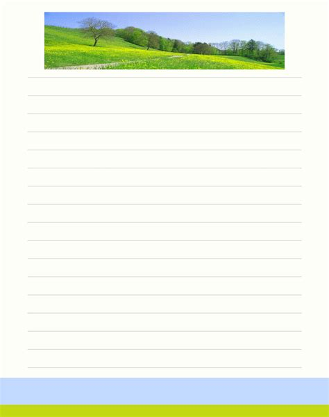 printable november stationery blank christmas lined printable paper new calendar