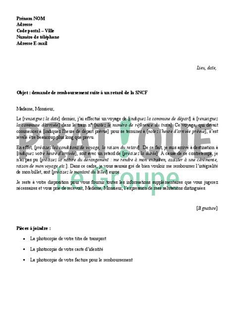 Lettre Demande De Remboursement De Frais De Visa application letter sle modele de lettre de demande bourse