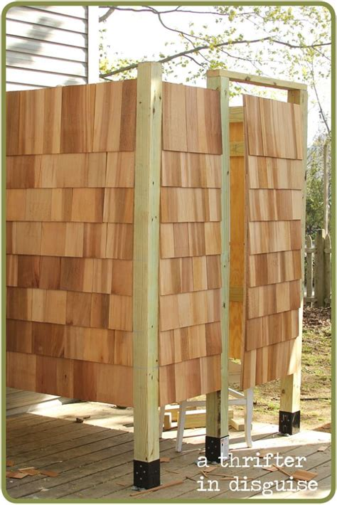 diy outdoor shower enclosure diy outdoor shower house part 1 the o jays showers and