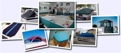 custom boat covers ontario canada erie view marine services