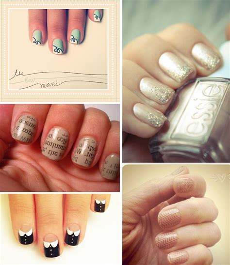 neutral nail colors neutral wedding nail colors funky for brides onewed