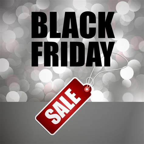 Background With Lights For Black Friday Vector Free Download Black Friday Lights
