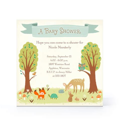 hallmark baby shower invitation templates invitation ideas