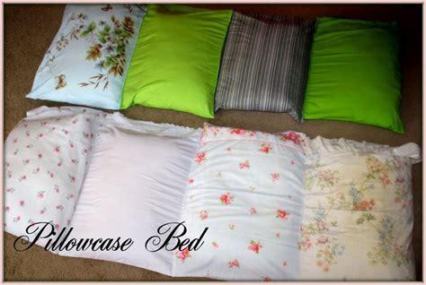 pillow beds for kids diy pillow mats crafts pinterest