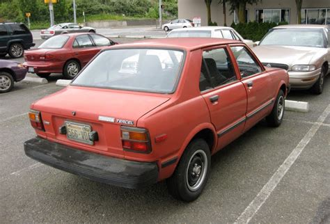 1982 Toyota Tercel Parked Cars 1982 Toyota Tercel