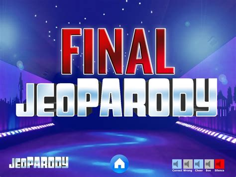 Powerpoint Jeopardy Game Template With Music Jeopardy Theme Song For Powerpoint