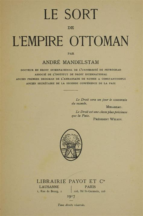 Fondateur De L Empire Ottoman by Le Sort De L Empire Ottoman Association Pour La