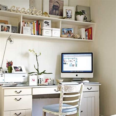 White Office Decorating Ideas Do It Yourself