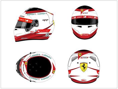 helmet design contest 2015 jean eric vergne ferrari 2015 helmet design competition