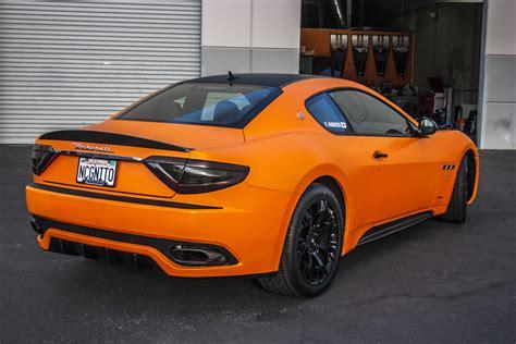 Orange Maserati by Maserati Orange