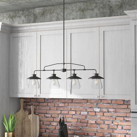 pendants for kitchen island trent design de 4 light kitchen island pendant