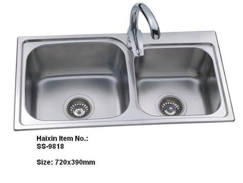 stainless steel kitchen sink double bowls wash basin wall double bowl kitchen sink stainless steel kitchen sinks