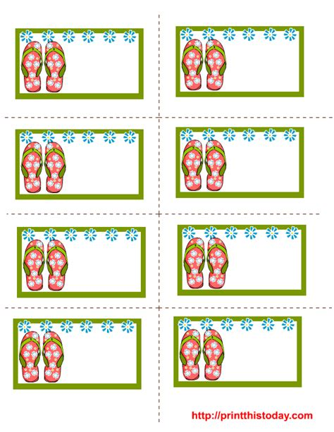 free printable gift tags summer free printable summer labels