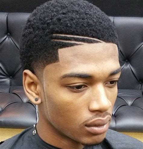 part in hair black men history gallery black men haircut photo gallery black hairstle