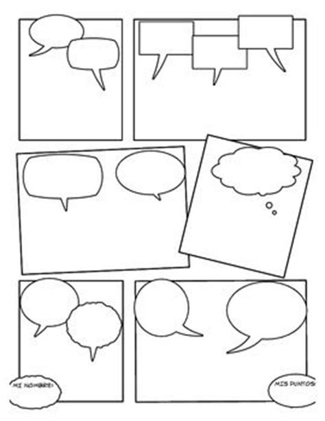 blank comic book draw your own comics a large notebook and sketchbook for and adults to draw comics and journal books blank comic could use for students to create comic