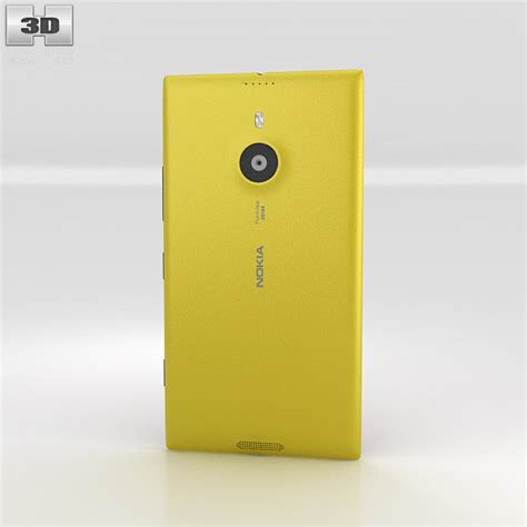 yellow nokia lumia 1520 nokia lumia 1520 yellow 3d model hum3d