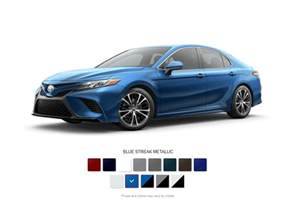 camry colors your guide to 2018 toyota camry color choices autonation