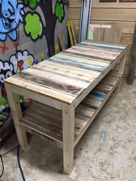 upcycled pallet bench shipping pallet upcycled bench pallet ideas recycled