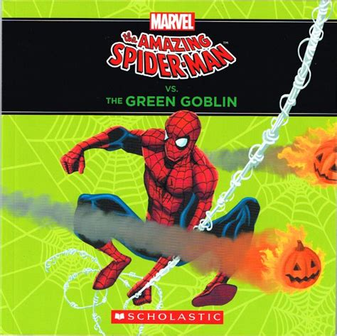 Marvel Sticker Book Vs Hulkbuster Soft Cover spiderfan org comics the amazing spider vs the green goblin origin storybook