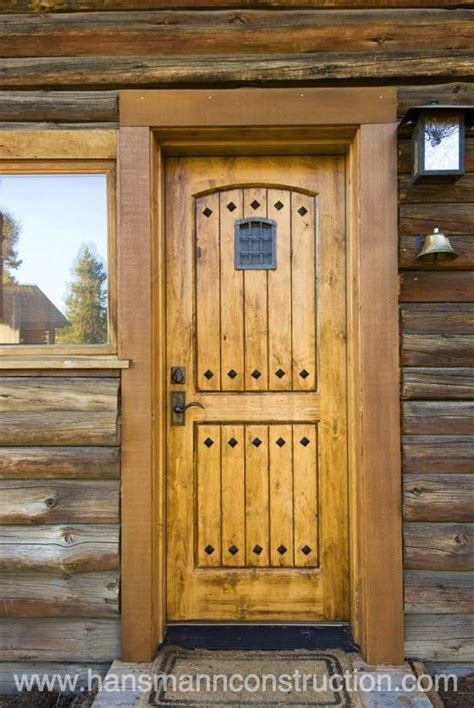 Log Cabin Exterior Doors Log Cabin Front Doors Front Door To A Log Cabin Log Home Ideas The Cottage On The Corner