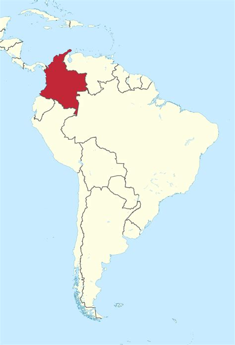 map of colombia in south america original file svg file nominally 1 181 215 1 732 pixels