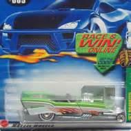 Hotwheels 2002 57 Roadster Th Metalflake Light Green wheels 2002 treasure hunts hwtreasure