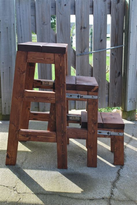Cabinet Pull Out Step Stool by White Pull Out Step Stool Diy Projects