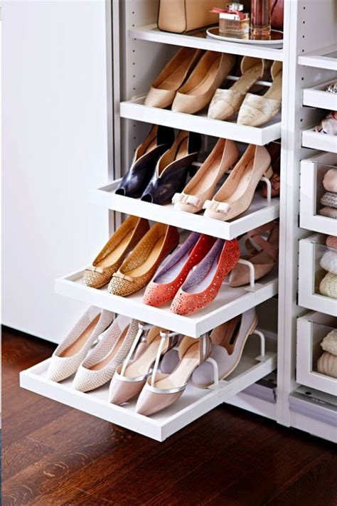 storage of shoes 88 best images about creative dressing room closet ideas