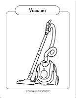 coloring pages vacuum cleaner vacuum coloring pages www pixshark com images