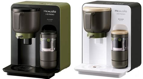 Coffee Maker Sharp japan trend shop sharp healsio ocha presso japanese tea