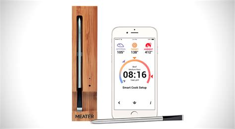 Termometer Uap meater smart thermometer app gearnova