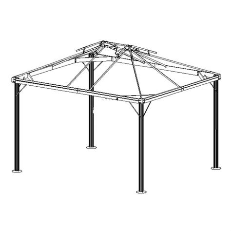 south hton gazebo replacement parts 25 collection of sunjoy gazebo replacement parts
