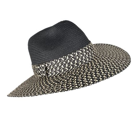 How To Make A Fedora Out Of Paper - dents wide brim paper straw fedora hat collen clare