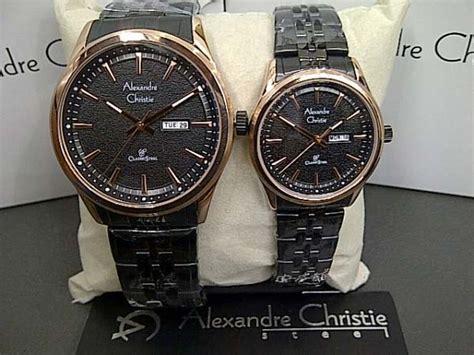 Alexandre Christie 8447 jam tangan ac 8447 black rosegold alexandre christie