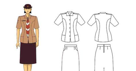 Baju Pramuka Penegak Putri No 16 pramuka jaya model pakaian pramuka penegak pandega putri terbaru