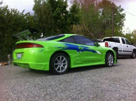 mitsubishi eclipse fast and furious specs sell used mitsubishi eclipse fast and furious replica in