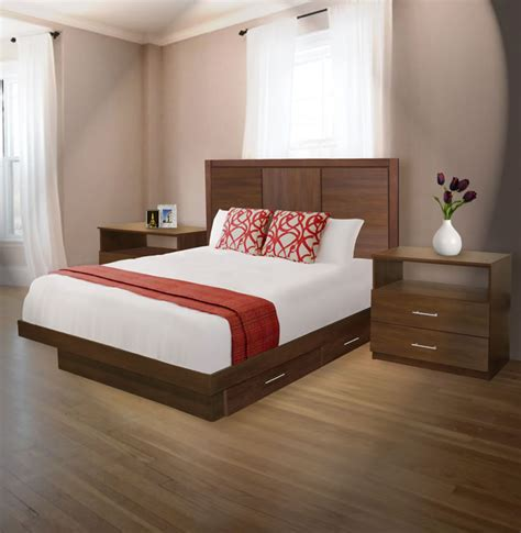 queen size bedroom set with storage madison queen size bedroom set w storage platform