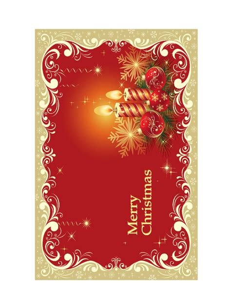christmas card template   templates   word excel