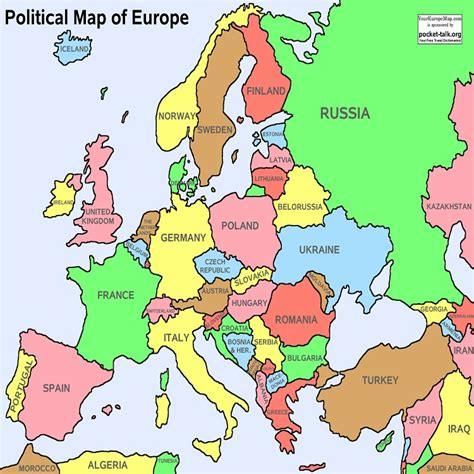 geography of europe map europe map geography