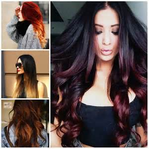 new hair colors 5 best ombre hair color ideas for 2017 new hair color